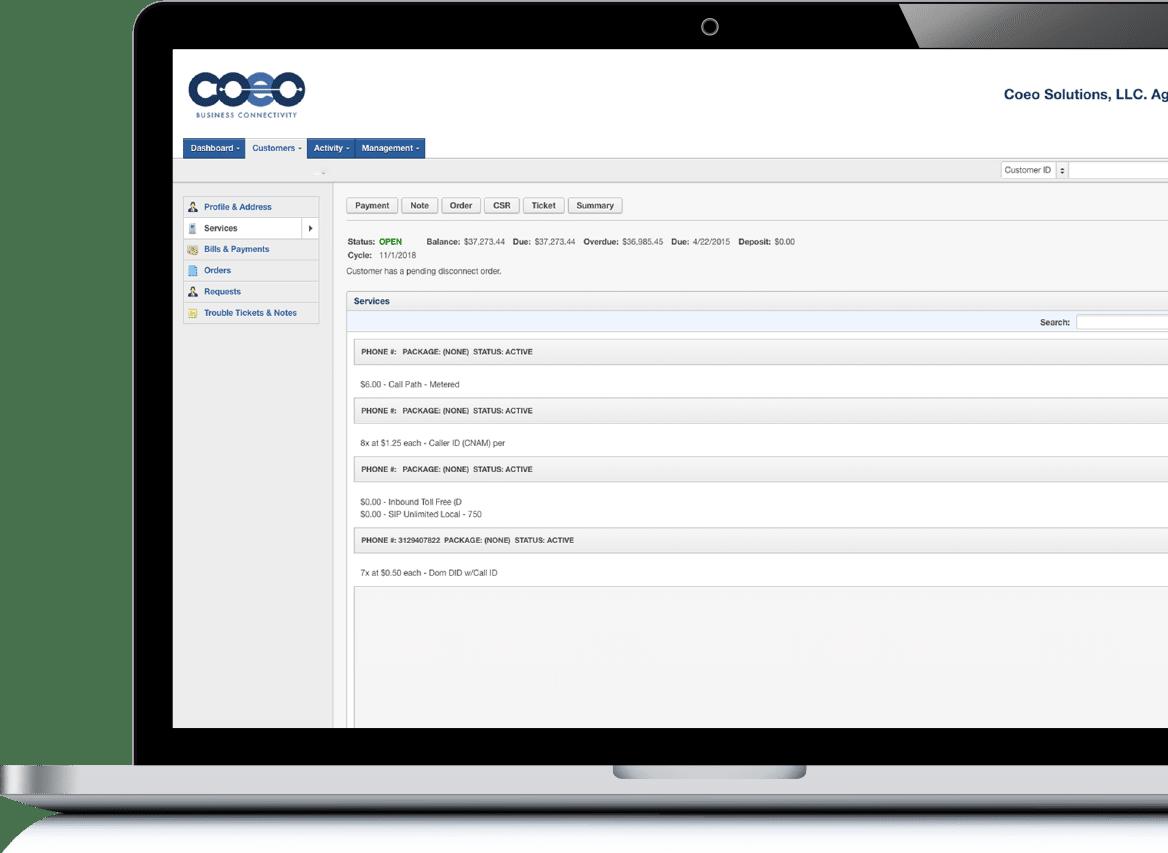 Coeo Billing Portal